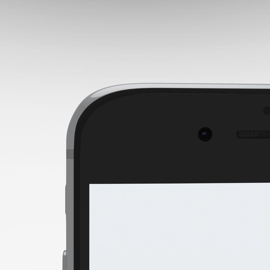 Iphone 6S Espaço Cinza royalty-free 3d model - Preview no. 20