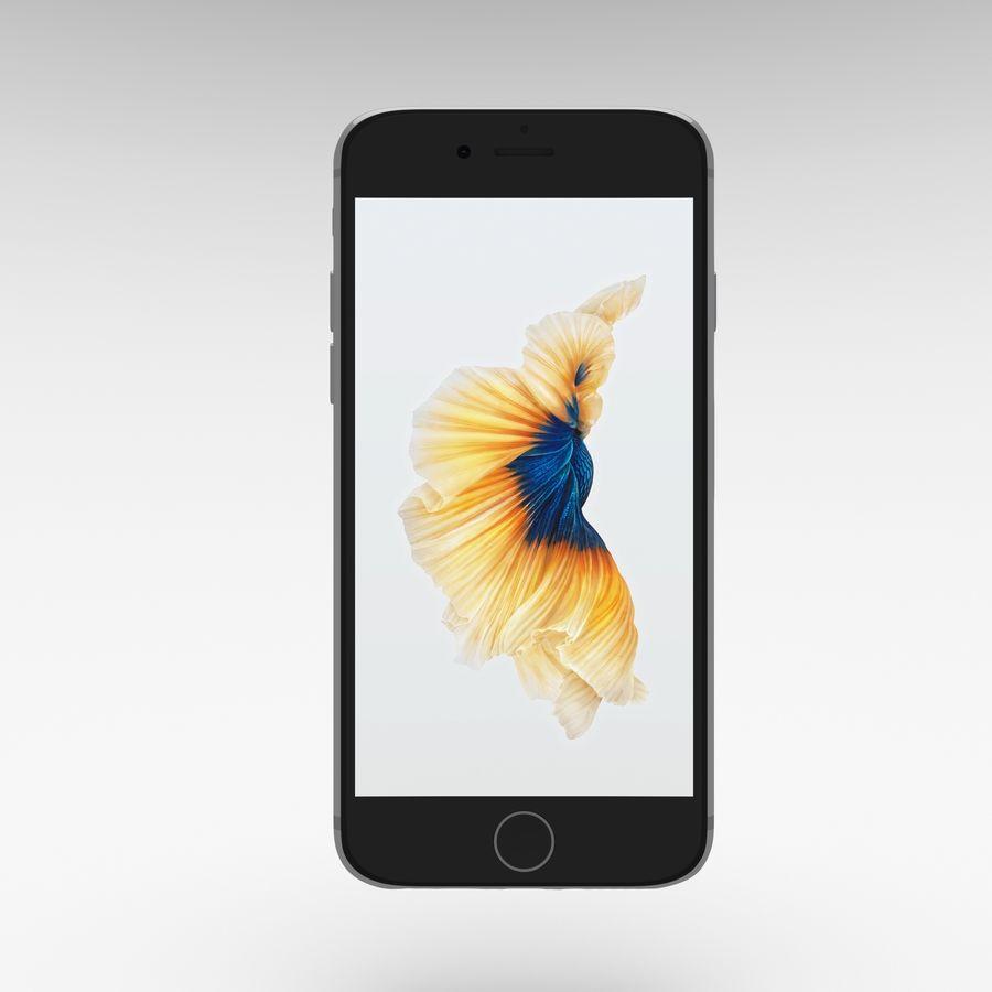 Iphone 6S Espaço Cinza royalty-free 3d model - Preview no. 3