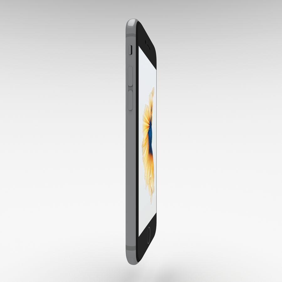 Iphone 6S Espaço Cinza royalty-free 3d model - Preview no. 2