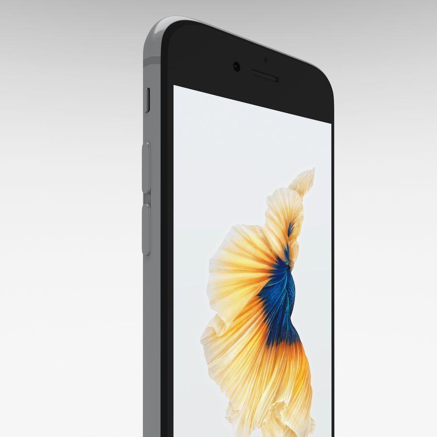 Iphone 6S Espaço Cinza royalty-free 3d model - Preview no. 24
