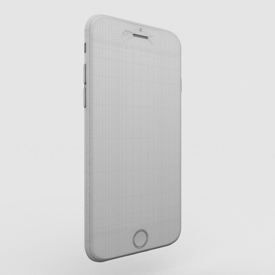 Iphone 6S Space Grey royalty-free 3d model - Preview no. 15