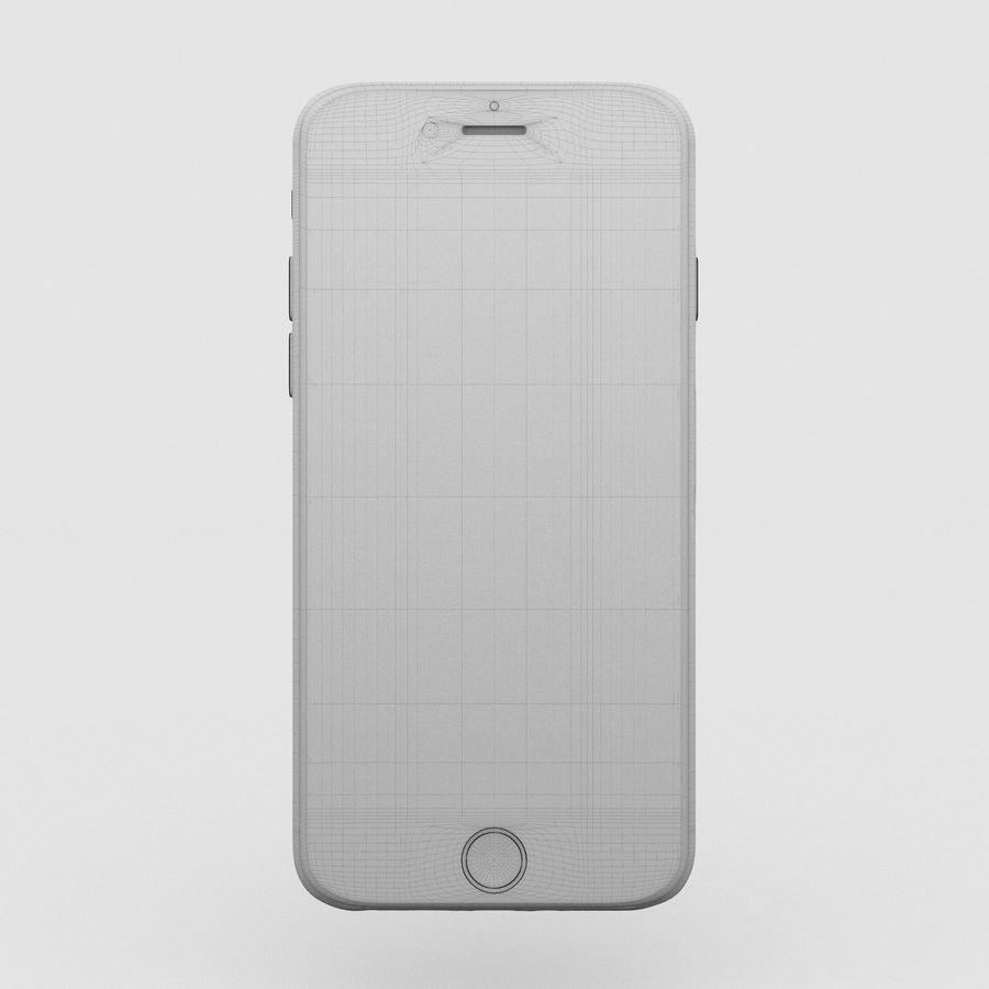 Iphone 6S Espaço Cinza royalty-free 3d model - Preview no. 4