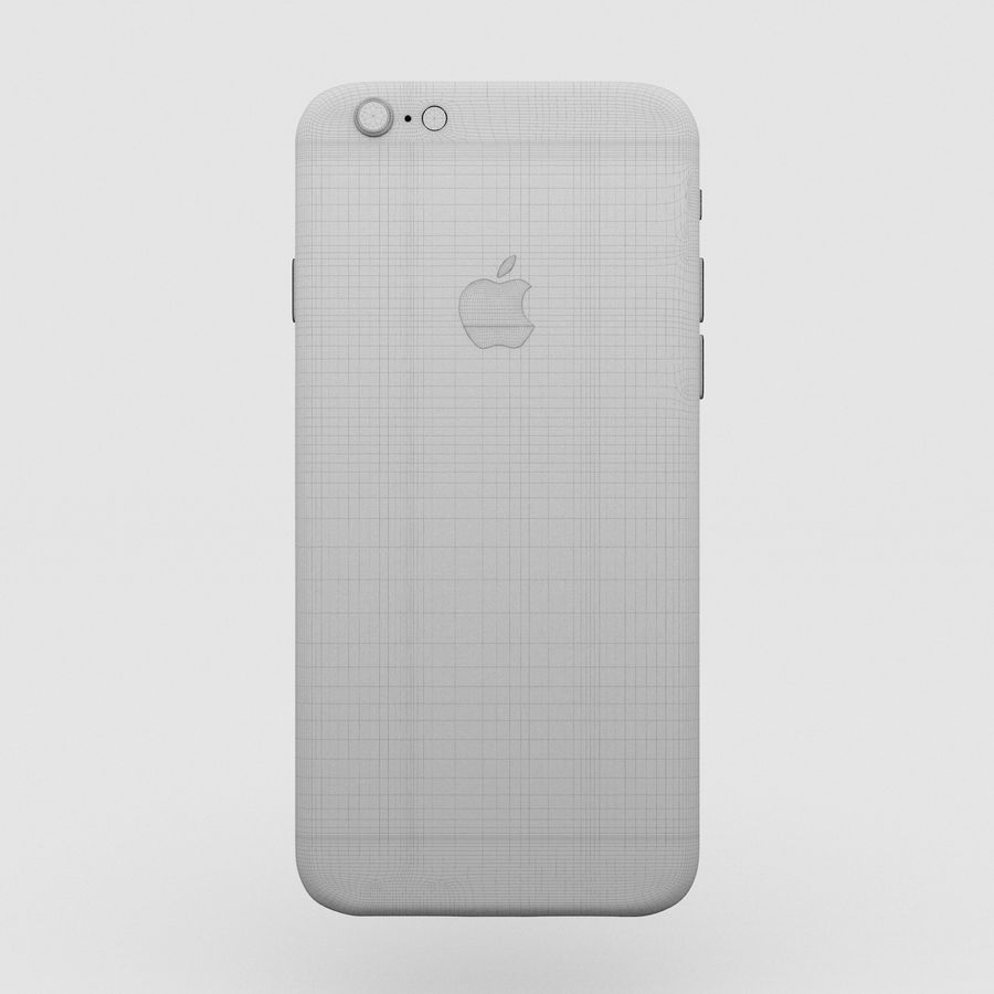 Iphone 6S Espaço Cinza royalty-free 3d model - Preview no. 11