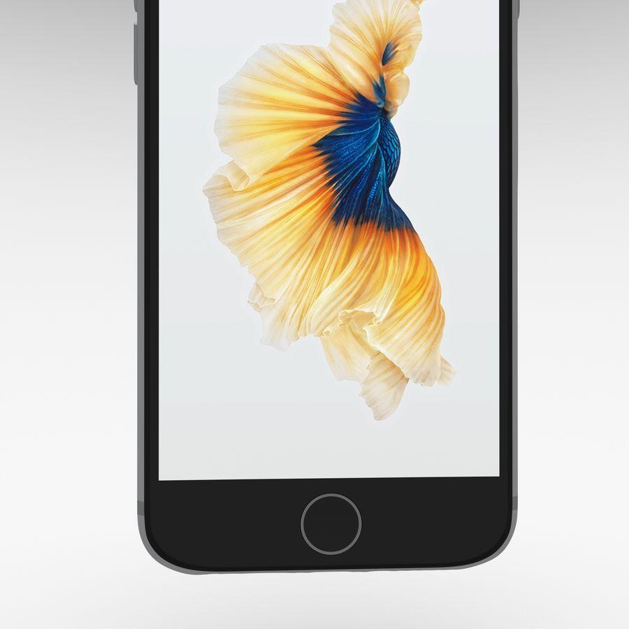 Iphone 6S Espaço Cinza royalty-free 3d model - Preview no. 22
