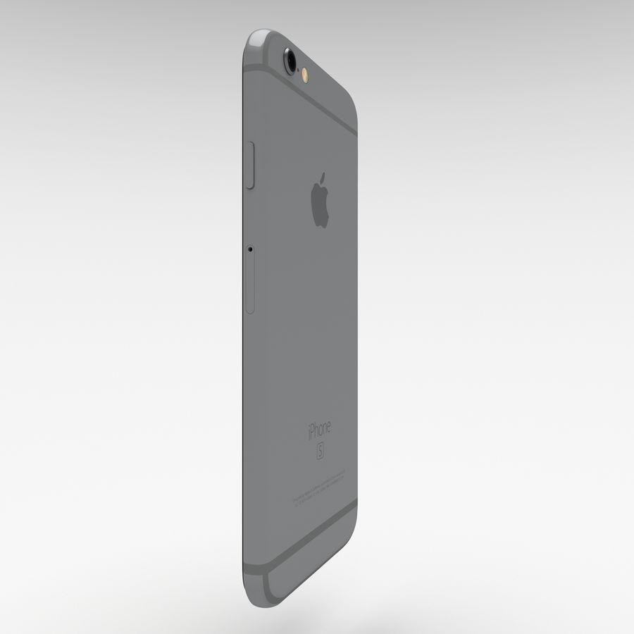 Iphone 6S Espaço Cinza royalty-free 3d model - Preview no. 9