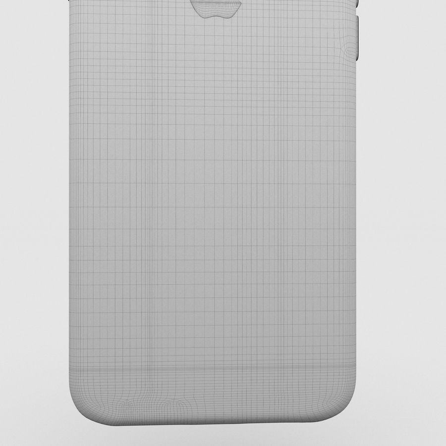 Iphone 6S Space Grey royalty-free 3d model - Preview no. 27