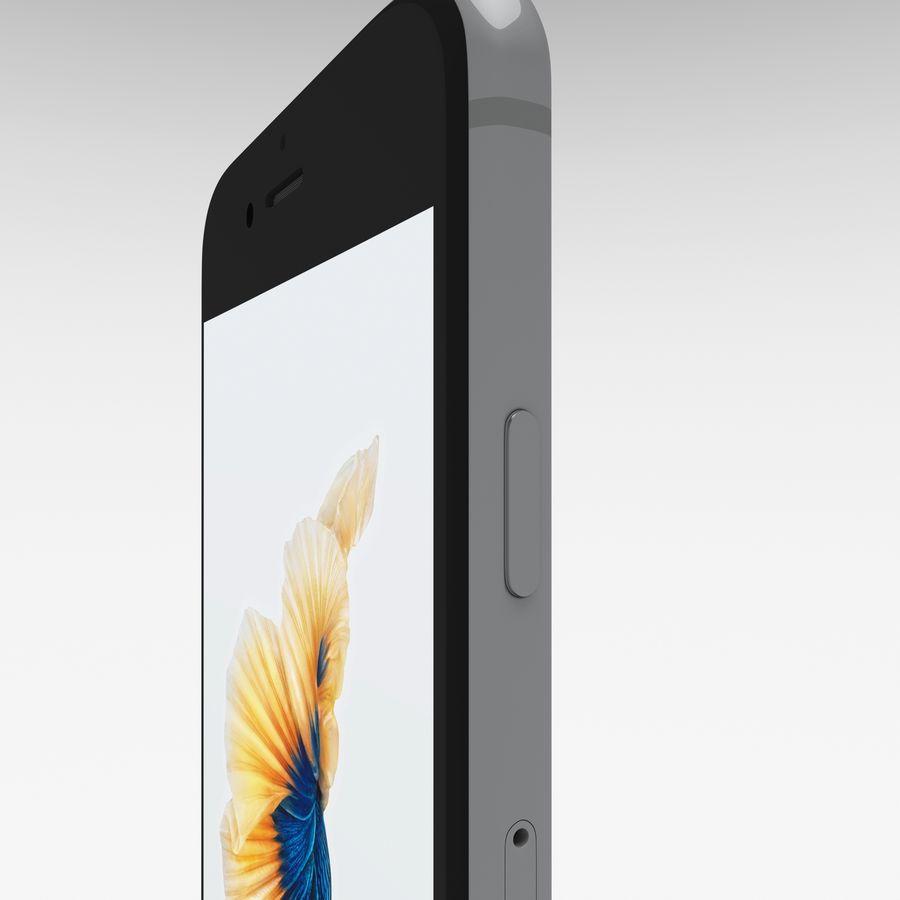 Iphone 6S Espaço Cinza royalty-free 3d model - Preview no. 18