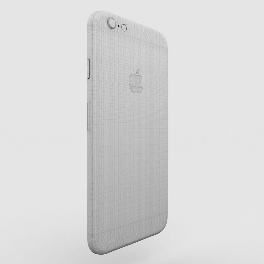 Iphone 6S Espaço Cinza royalty-free 3d model - Preview no. 8