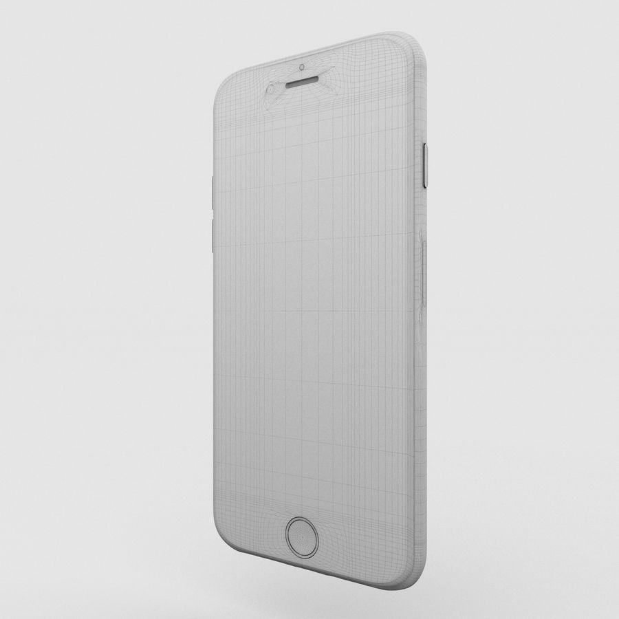 Iphone 6S Rose Gold royalty-free modelo 3d - Preview no. 6