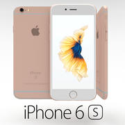 Iphone 6S Rose Gold 3d model