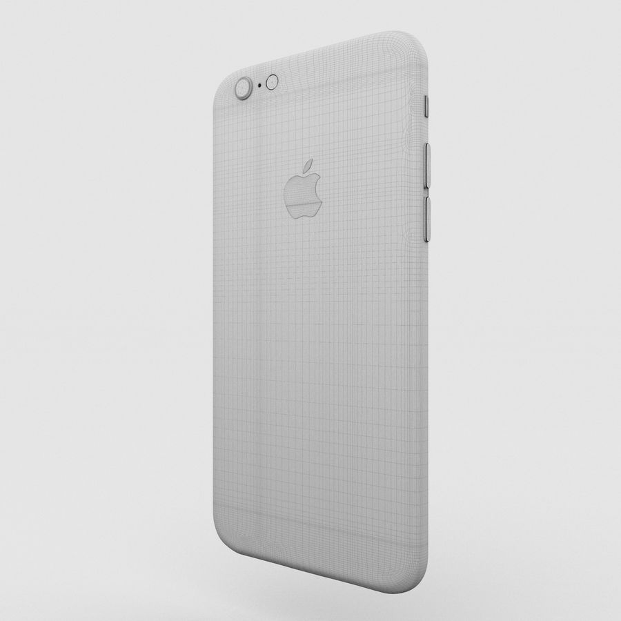 Iphone 6S Rose Gold royalty-free modelo 3d - Preview no. 14
