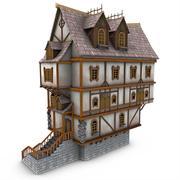 Medieval Building 20 Tavern 3d model