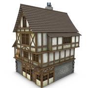 Medieval Building 21 Tavern 3d model