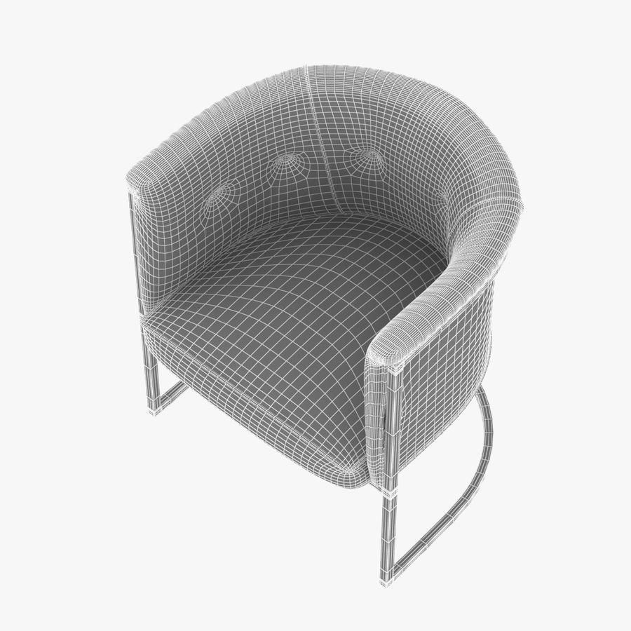 肘掛け椅子 royalty-free 3d model - Preview no. 7