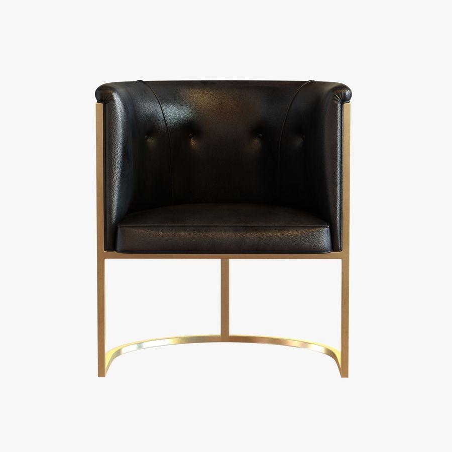 肘掛け椅子 royalty-free 3d model - Preview no. 2
