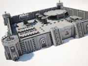 군사 공급 기지 3d model