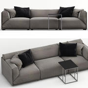 Sofa Bacon 3d model