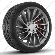 Yamato Hoshi Rim and Tire 3d model