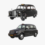 Coleção London Cabs 3d model