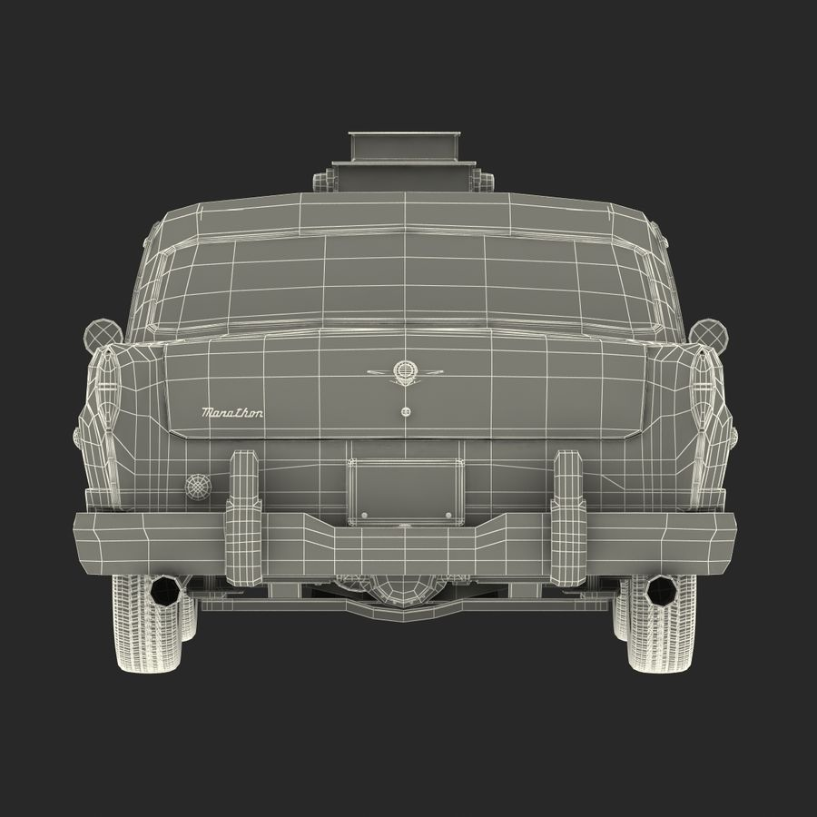 Checker Taxicab 1982 royalty-free 3d model - Preview no. 47