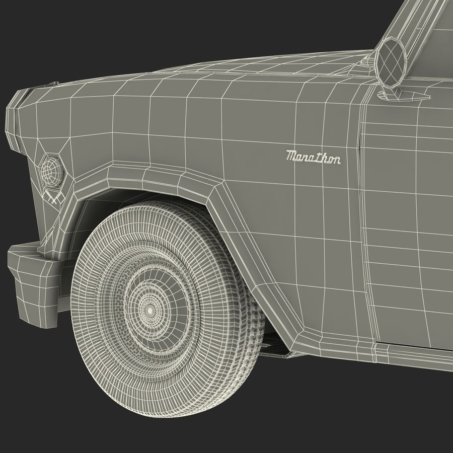 Checker Taxicab 1982 royalty-free 3d model - Preview no. 57