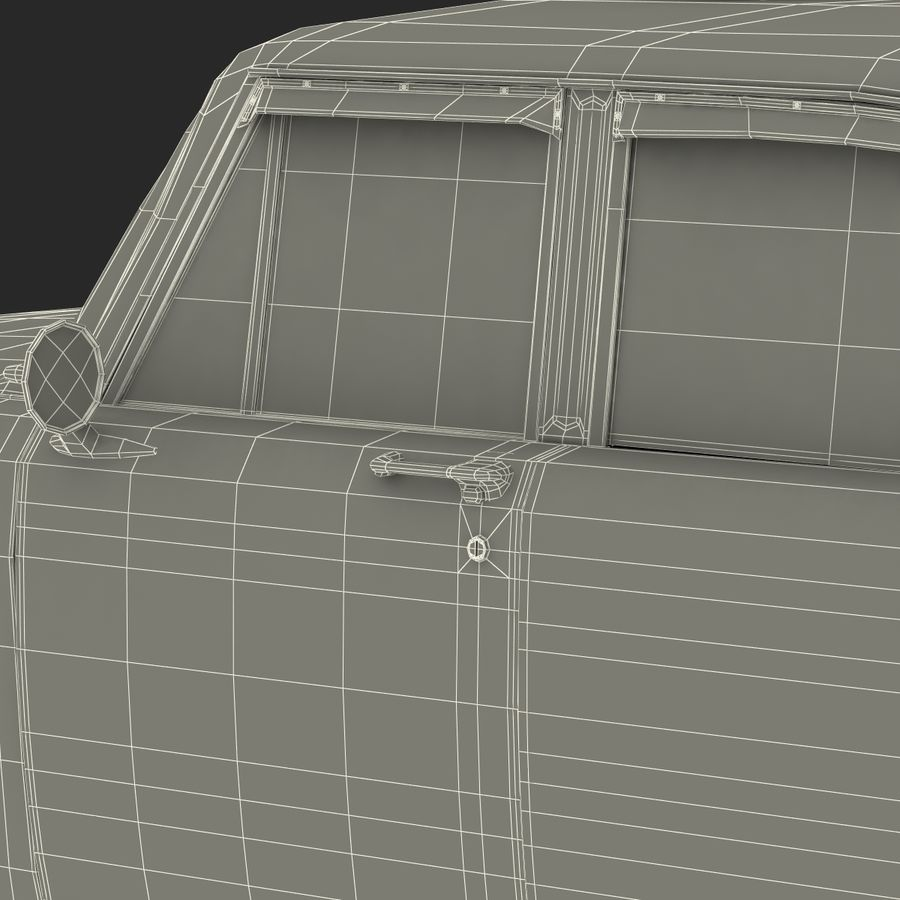 Checker Taxicab 1982 royalty-free 3d model - Preview no. 56