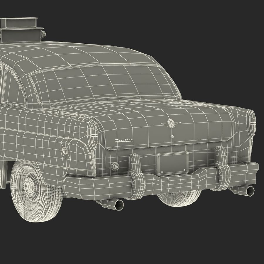 Checker Taxicab 1982 royalty-free 3d model - Preview no. 54