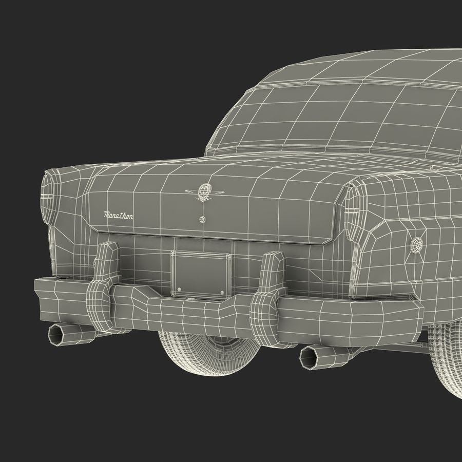 Checker Taxicab 1982 royalty-free 3d model - Preview no. 61