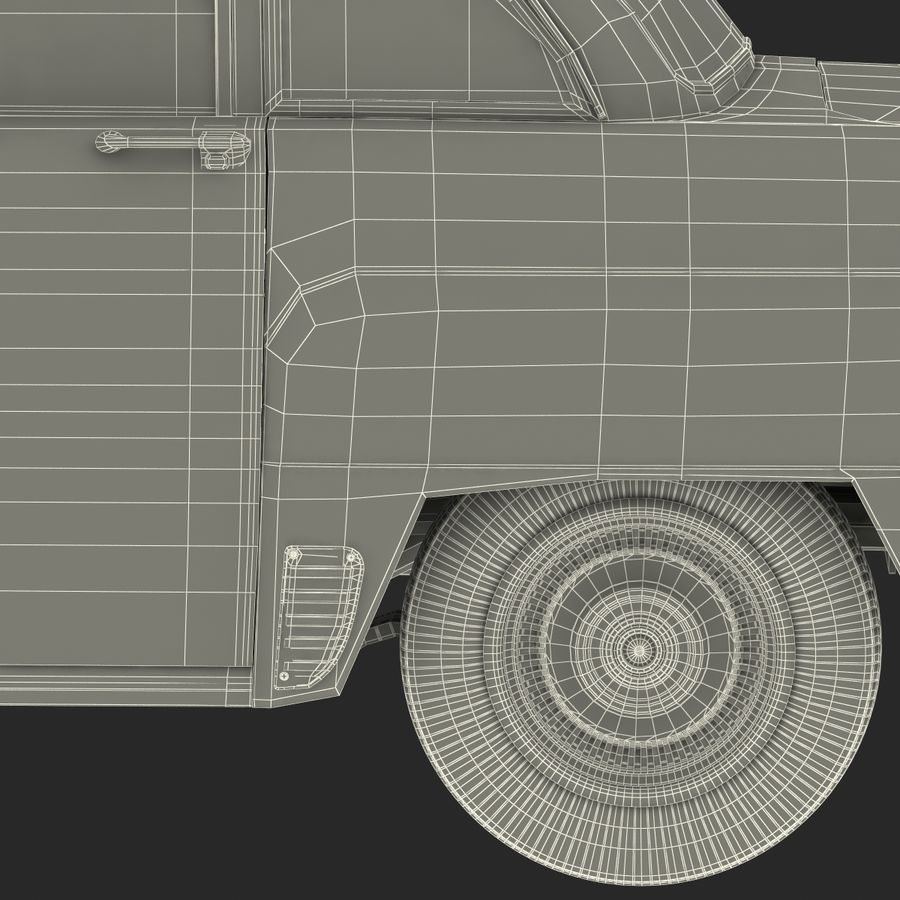 Checker Taxicab 1982 royalty-free 3d model - Preview no. 55