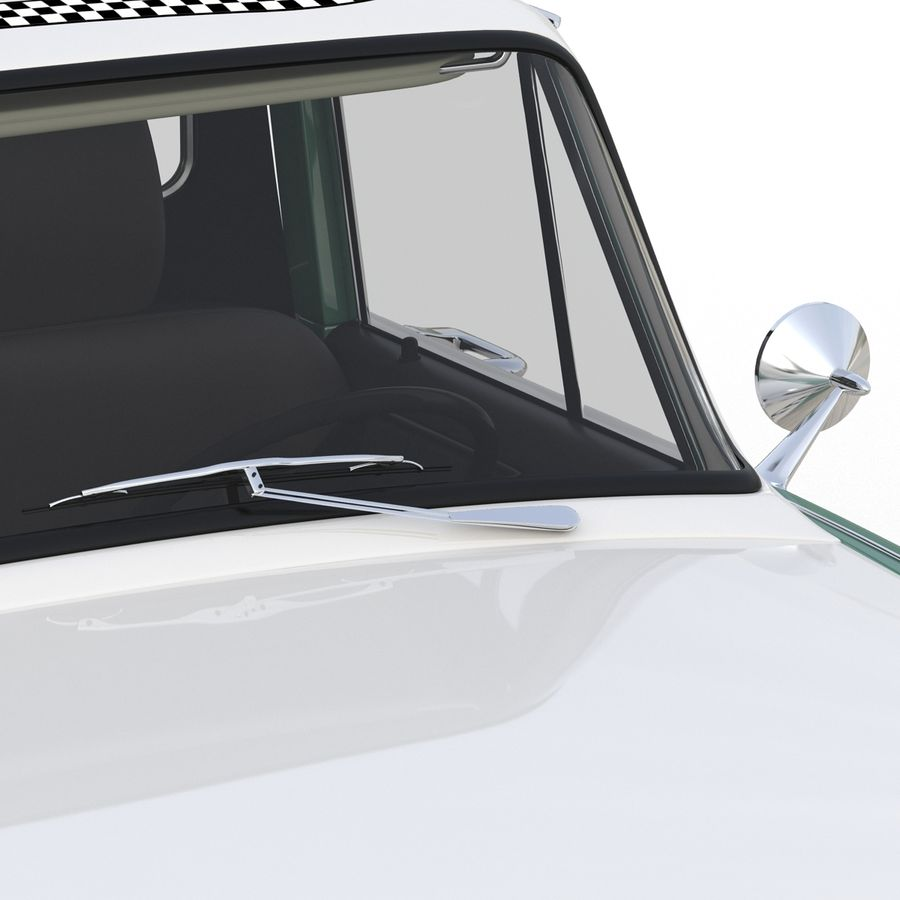 Checker Taxicab 1982 royalty-free 3d model - Preview no. 27