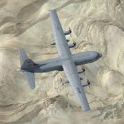 Hercules C130J 3d model