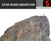 Montaña 16K Ultra HD modelo 3d