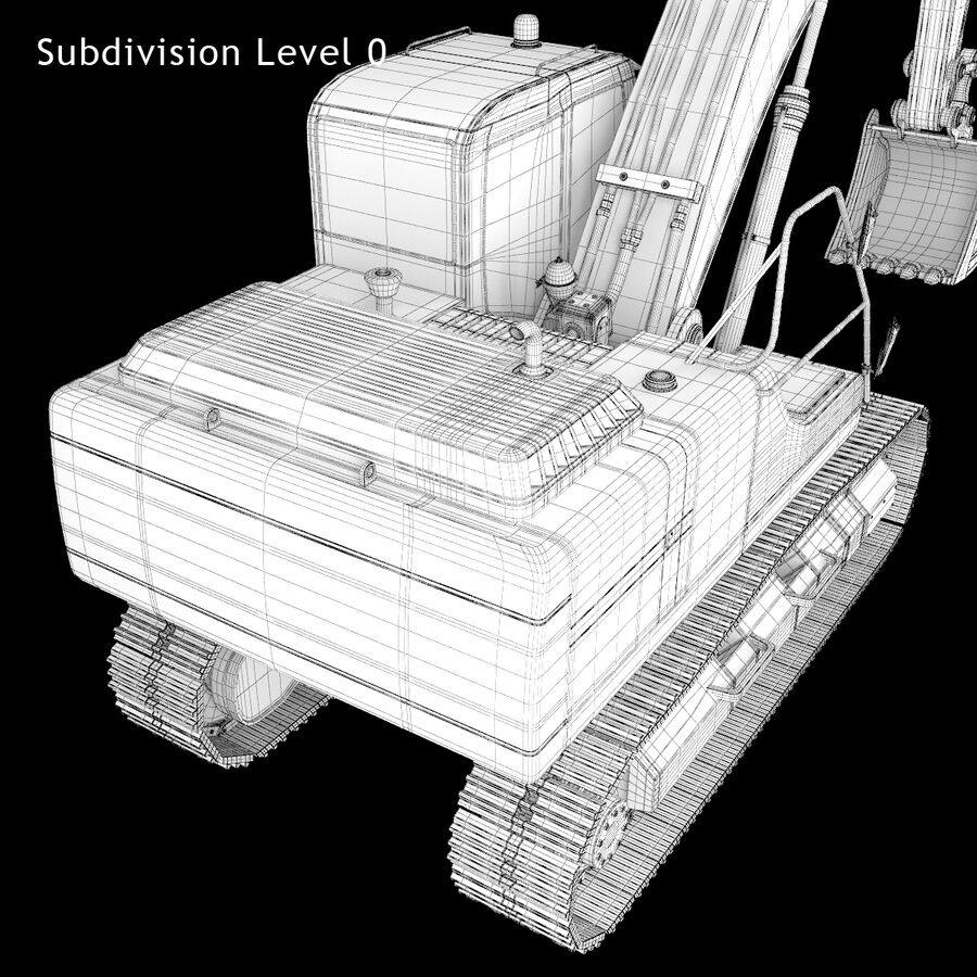 Graafmachine royalty-free 3d model - Preview no. 20