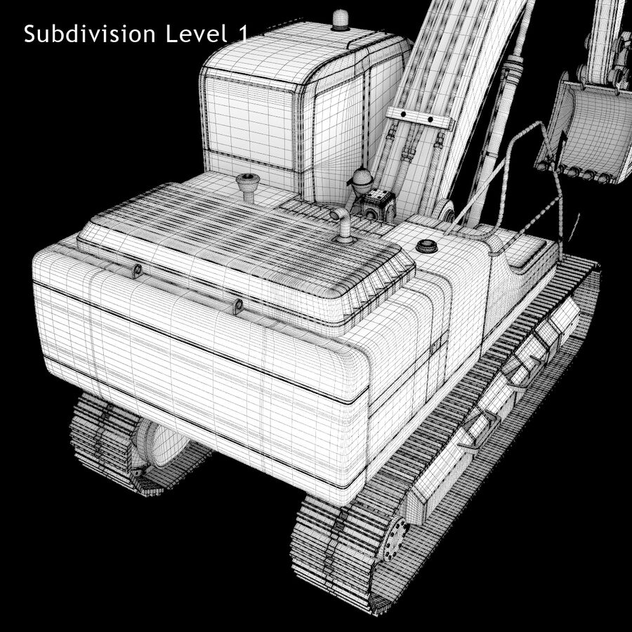Graafmachine royalty-free 3d model - Preview no. 21