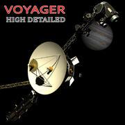 VOYAGER (SATELLITE) 3d model