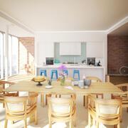 Kitchen Interior 5 3d model