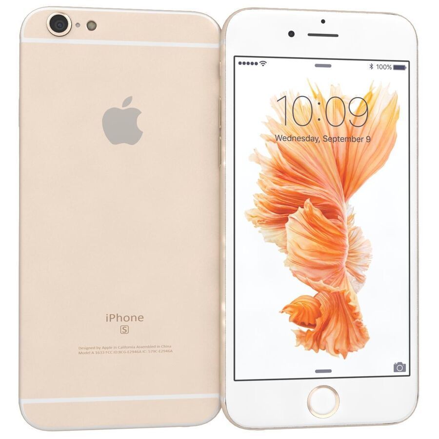 Apple iPhone 6s 및 Plus royalty-free 3d model - Preview no. 12