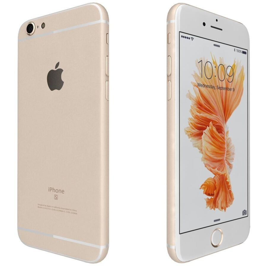 Apple iPhone 6s 및 Plus royalty-free 3d model - Preview no. 29