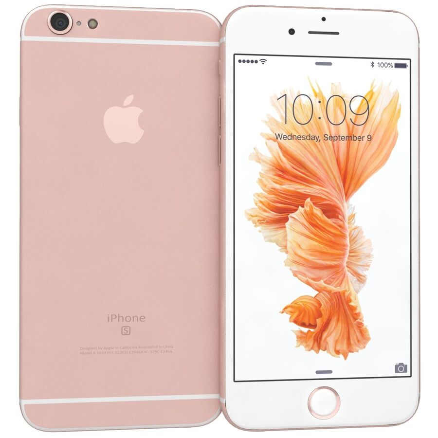 Apple iPhone 6s 및 Plus royalty-free 3d model - Preview no. 17