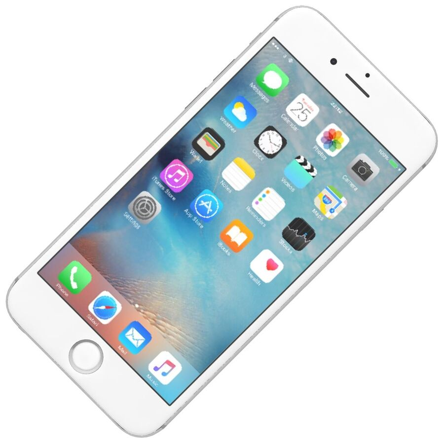 Apple iPhone 6s ve Artı royalty-free 3d model - Preview no. 3