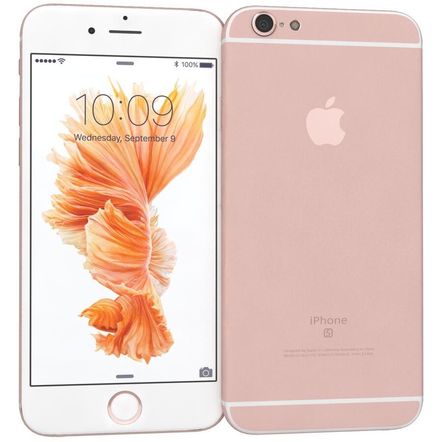 Apple iPhone 6s 및 Plus royalty-free 3d model - Preview no. 18