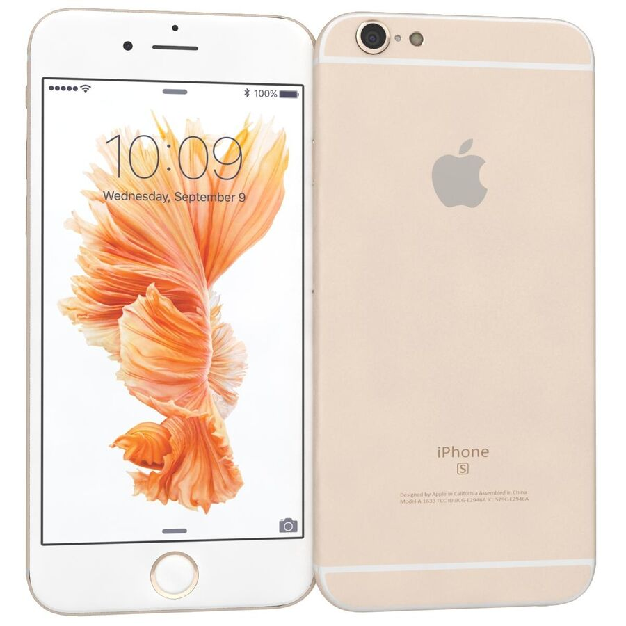 Apple iPhone 6s 및 Plus royalty-free 3d model - Preview no. 23