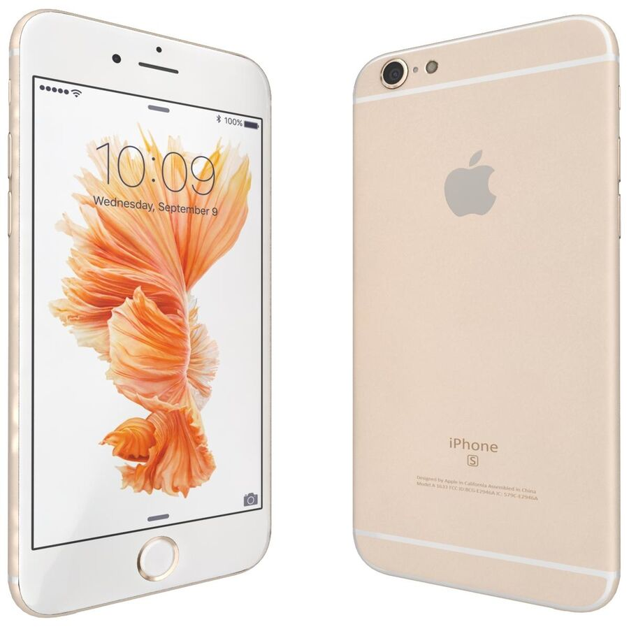 Apple iPhone 6s 및 Plus royalty-free 3d model - Preview no. 25