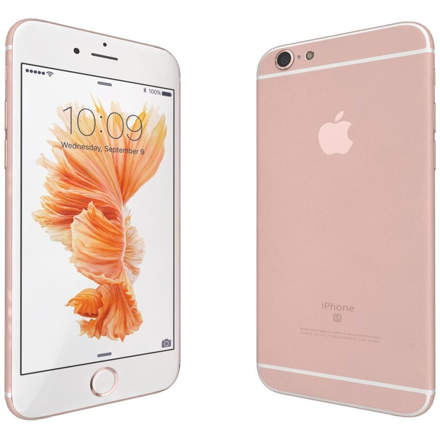 Apple iPhone 6s 및 Plus royalty-free 3d model - Preview no. 19
