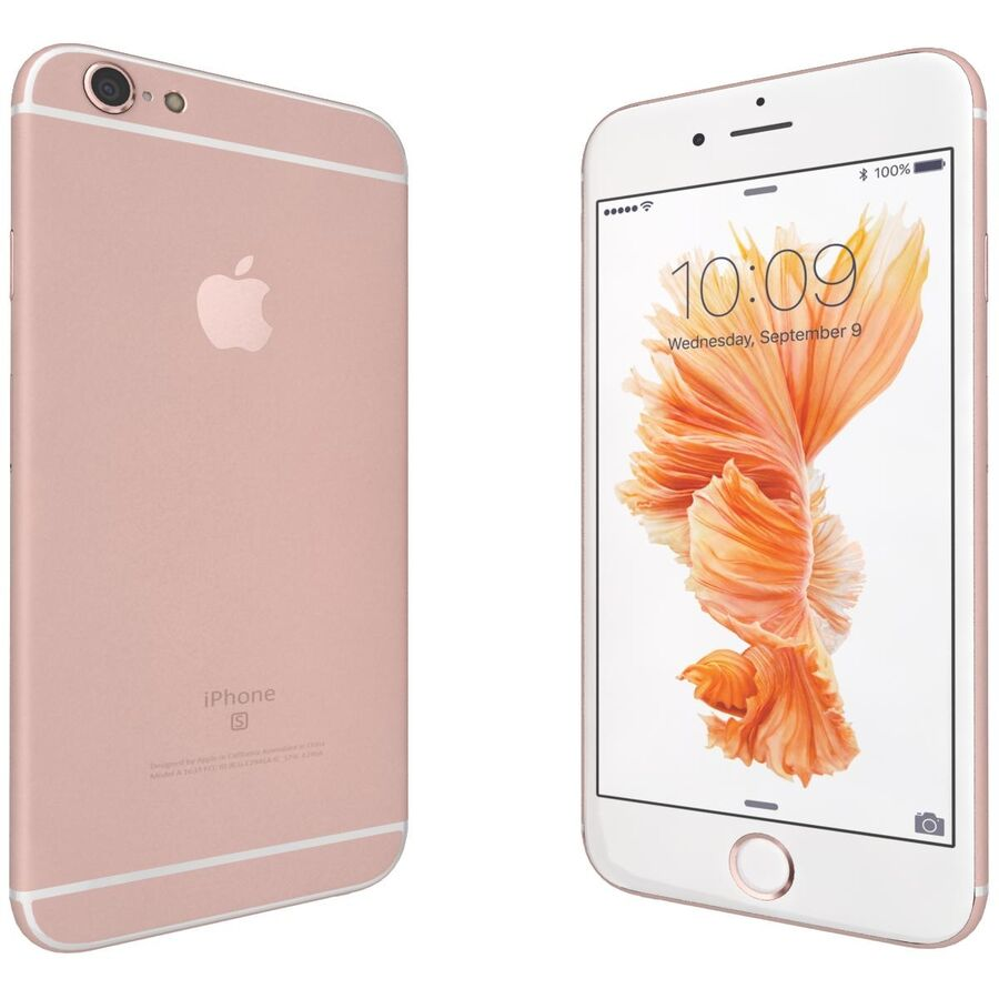 Apple iPhone 6s ve Artı royalty-free 3d model - Preview no. 36