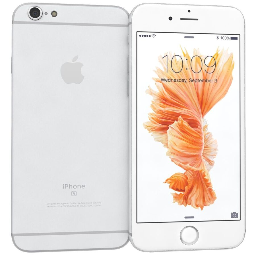 Apple iPhone 6s ve Artı royalty-free 3d model - Preview no. 40