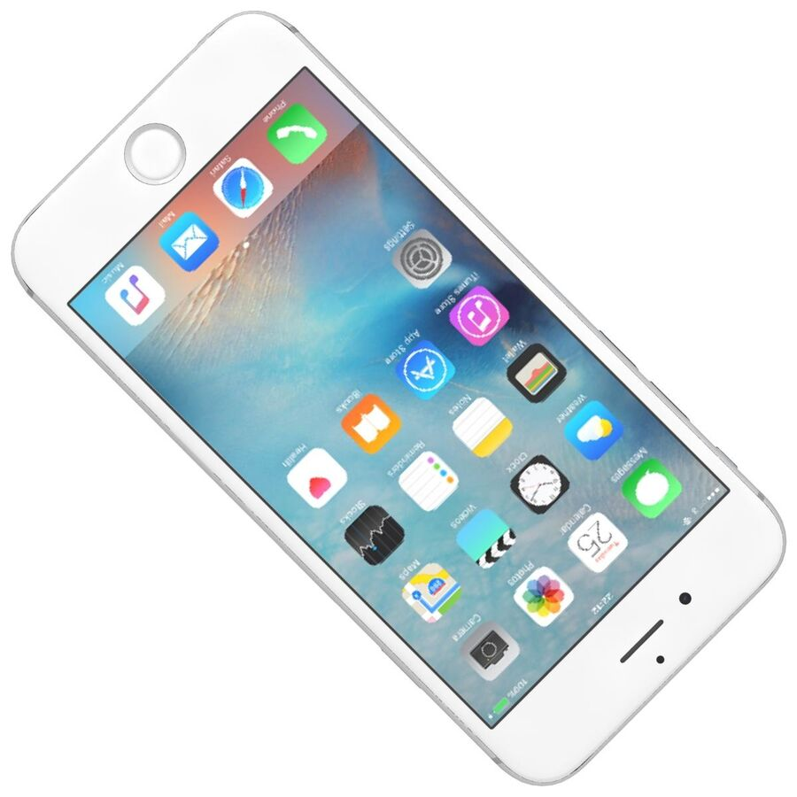 Apple iPhone 6s 및 Plus royalty-free 3d model - Preview no. 4