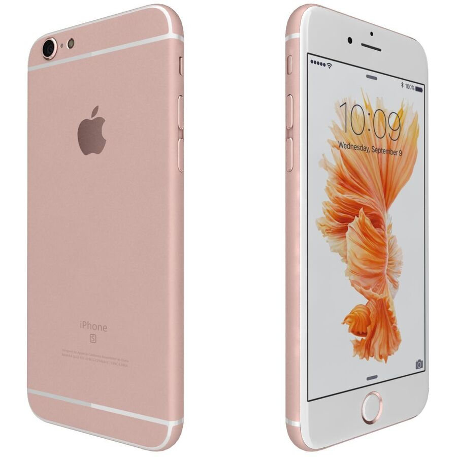 Apple iPhone 6s 및 Plus royalty-free 3d model - Preview no. 38