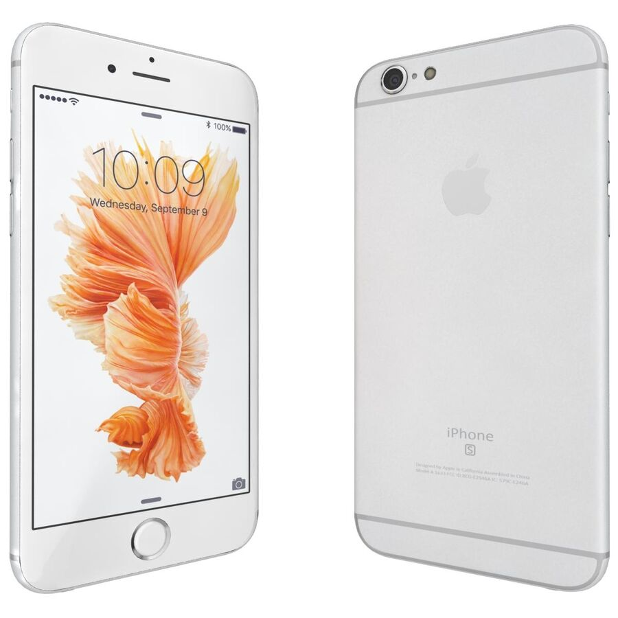 Apple iPhone 6s ve Artı royalty-free 3d model - Preview no. 44