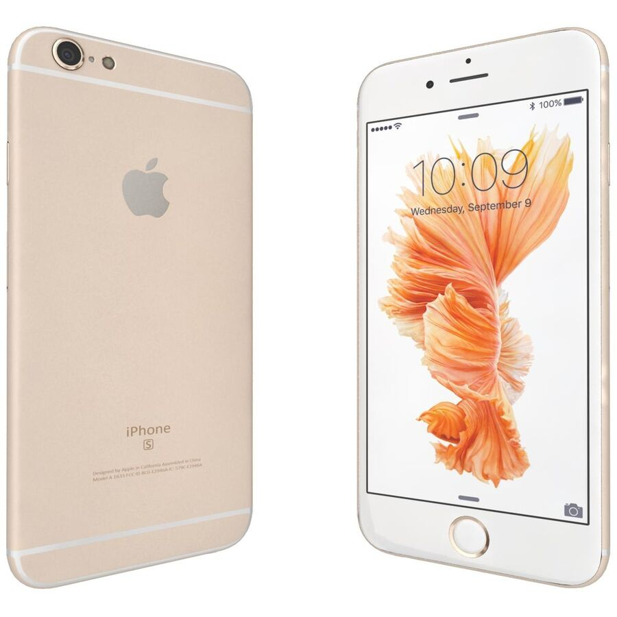 Apple iPhone 6s ve Artı royalty-free 3d model - Preview no. 27